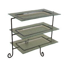 3 Tier Rectangular Serving Tray