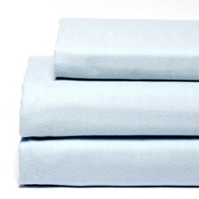 <strong>Laura Ashley Home</strong> Flannel Sheet Set