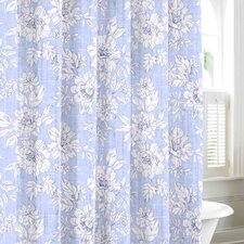 Iris Cotton Shower Curtain
