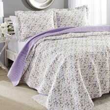 Spring Bloom Reversible Cotton Quilt