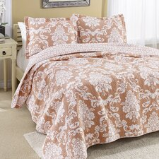 Venetia Reversible Cotton Quilt