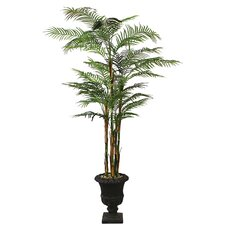 <strong>Laura Ashley Home</strong> Realistic Areca Palm Tree in Urn