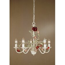 <strong>Laura Ashley Home</strong> Annette 5 Light Mini Chandelier