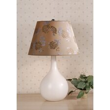 Ava Table Lamp with Carla Shade