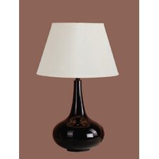 Brittney Table Lamp with Calais Shade