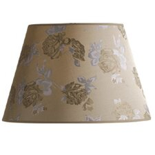 Carla Barrel Shade in Coffee / Gold