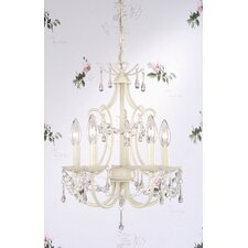 <strong>Laura Ashley Home</strong> Chella 5 Light Chandelier