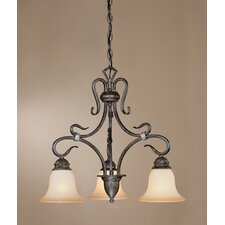 Covey 3 Light  Chandelier