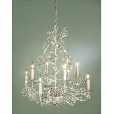 <strong>Laura Ashley Home</strong> Freya 8 Light Chandelier
