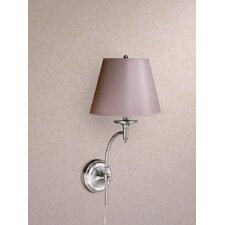 Josephine 1 Light Wall Sconce with Charlotte Barrel Shade