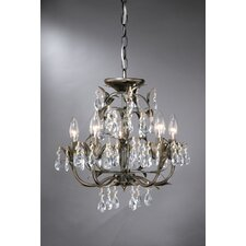 Lavenham 5 Light Mini Chandelier