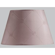 Lucille Barrel Clip Shade in Mauve