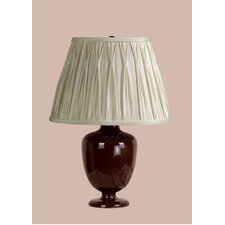 Madeleine Table Lamp with Charlotte Pinched Pleat Shade