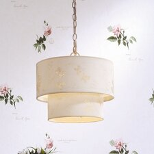 <strong>Laura Ashley Home</strong> Mallow Pierced 1 Light Pendant