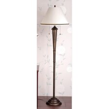 <strong>Laura Ashley Home</strong> Marshall Floor Lamp with Wilby Empire Shade