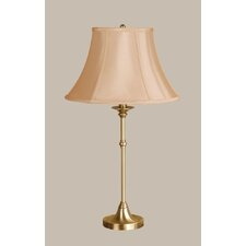 Morgan Table Lamp with Classic Bell Shade