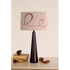 Pascal Table Lamp with Ludwig Shade