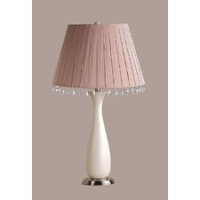 Penelope Table Lamp with Aida Shade