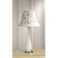 Siena Table Lamp with Tia Shade