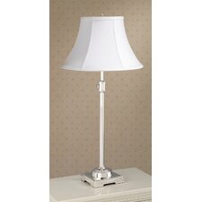 State Street Adjustable Accent Table Lamp with Calais Shade