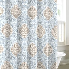 <strong>Laura Ashley Home</strong> Winchester Cotton Shower Curtain