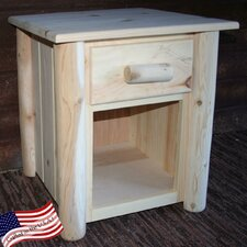 <strong>Lakeland Mills</strong> Frontier 1 Drawer Nightstand