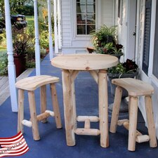 <strong>Lakeland Mills</strong> 3 Piece Balcony Dining Set