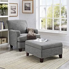 Grayson Club Chair and Ottoman
