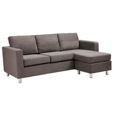 Small Spaces Chaise Sofa