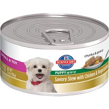 Small and Toy Puppy Savory Stew with Chicken and Vegetables Wet Dog Food (5.5-oz)