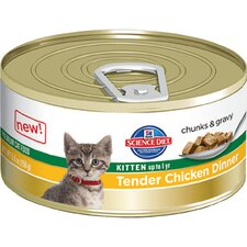 Kitten Tender Chicken Dinner Wet Cat Food