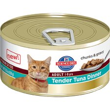 Adult Tender Tuna Dinner Wet Cat Food