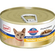 Mature Adult Tender Chicken Dinner Wet Cat Food