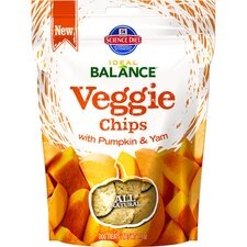 7.1-oz Veggie Chips with Pumpkin and Yam Dry Dog Food (Set of 12)