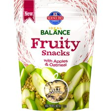 7.1-oz Fruity Snacks with Apples and Oatmeal Dry Dog Food (Set of 12)