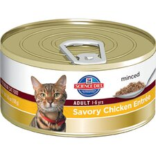 Adult Savory Chicken Entrée Wet Cat Food