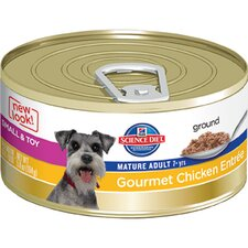 5.8-oz Small and Toy Mature Adult Gourmet Chicken Entrée Wet Dog Food (Set of 24)