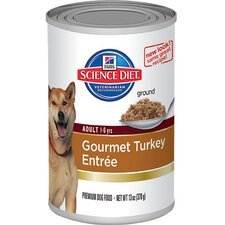 Adult Gourmet Turkey Entrée Wet Dog Food (13-oz)
