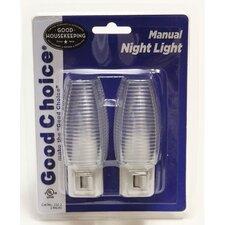 Manual Night Light (Set of 2)