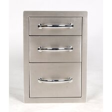 Flush Triple Access Drawer