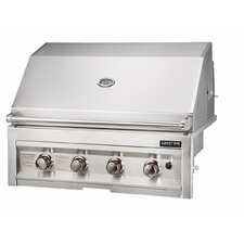 "34"" Gas Grill with 4 Burners"