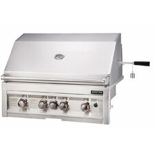 "34"" Gas Grill with 4 Burners Infrared"