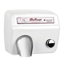 AirMax Heavy Duty 208 / 240 Volt Hand Dryer in White