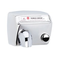 Model A Durable 110-120 Volt Hand Dryer in Polished Stainless Steel