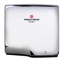 Slimdri Surface Mount Hand Dryer in Polished Stainless Steel