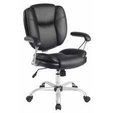 Mid Back Comfort Soft Managerial Office Chair