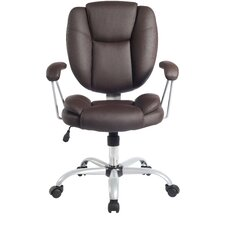 <strong>Techni Mobili</strong> Mid-Back Comfort Soft Managerial Office Chair