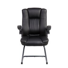 Mid-Back Manager Visitor Chair with Flip-up Arms