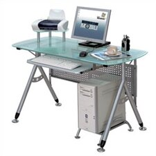 <strong>Techni Mobili</strong> Glass Surface Computer Desk