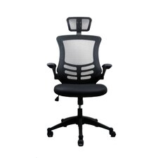 <strong>Techni Mobili</strong> High-Back  Executive Chair with Headrest
